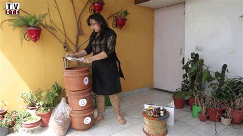 manage  compost kitchen waste  home