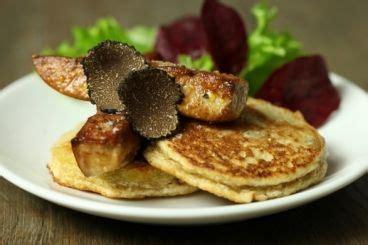 cuisiner des topinambours a la poele blinis de topinambour à la truffe et foie gras poêlé
