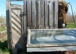 Solar Shower Diy by Homemade Solar Outdoor Shower Zombie Apocalypse Pinterest