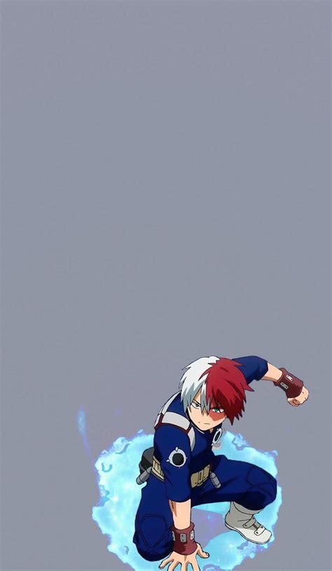 todoroki shouto wallpaper fondo de pantalla de anime
