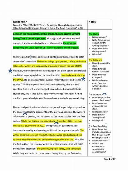 Paragraph Argumentative Example Template Main Allbusinesstemplates Templates
