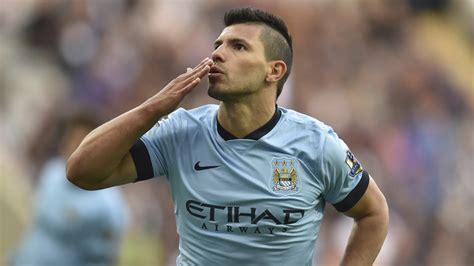 transfer news manchester city striker sergio aguero vows
