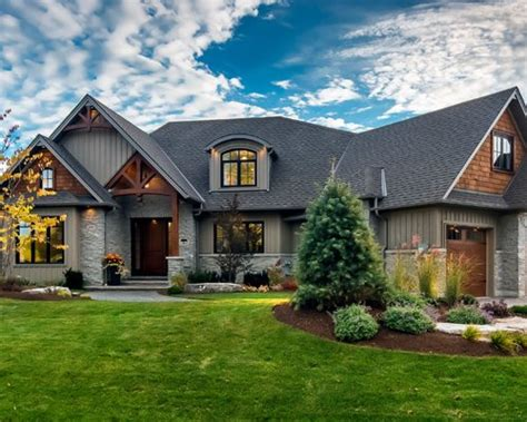 Craftsman Exterior Home Design Ideas, Remodels & Photos