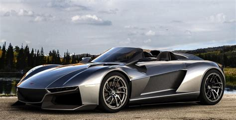Ultimate Sports Car by Partially 3d Printed Rezvani Beast Is The Ultimate