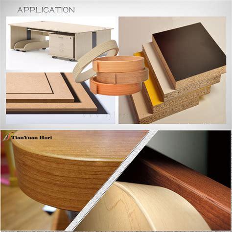 china factory laminate wood grain plastic furniture edge trim decorative cabinet mdf edging
