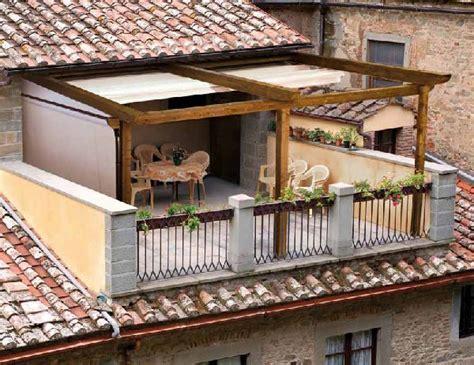 pergolato terrazzo legittimo realizzare sulla terrazza una struttura in legno
