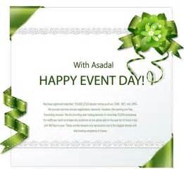 invitation design invitation cards design with ribbons