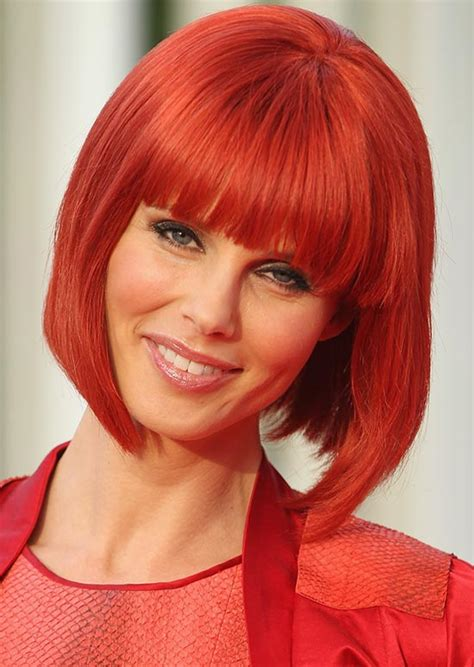 hairstyles  short red hair
