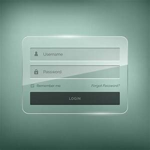 Login Page Template In Asp Net Free Download Login Template With Brightness Effect Vector Free Download