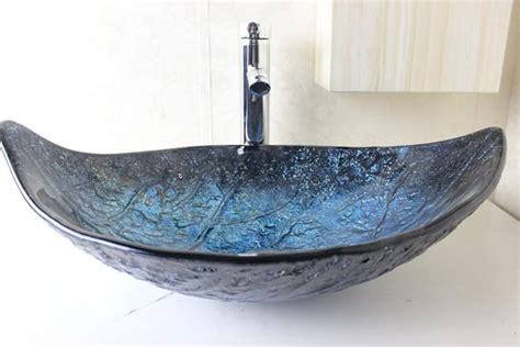 Wash Basin Glass Bowl Clear Tempered Glass Basins For