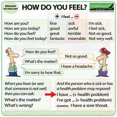 Health Problems  English Vocabulary