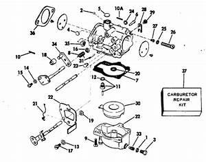 Evinrude Carburetor Parts For 1978 70hp 70873c Outboard Motor
