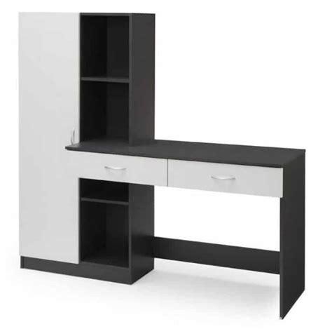 monter un bureau d udes bureau 160 cm optim gris à 133 95 sur cdiscount