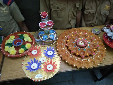 diya decoration competition  hyderabad public school