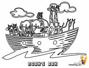 Bible Noah Ark Printable Coloring Pages