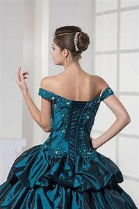 Off The Shoulder Ball Gown Quinceanera Formal Dresses