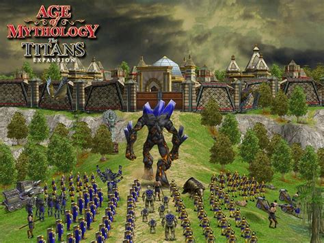 My Free Wallpapers Games Wallpaper Age Of Mythology