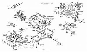 Dixon Ztr 5421  1995  Parts Diagram For Body Assembly
