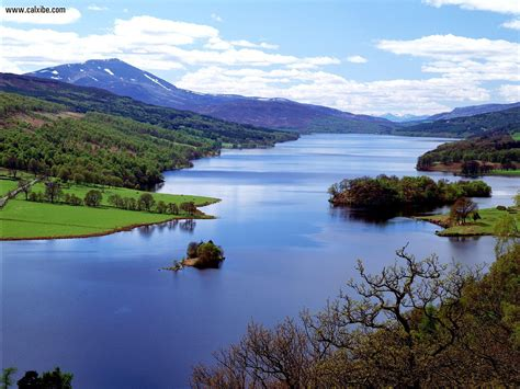 nature queens view loch tummel scotland picture nr