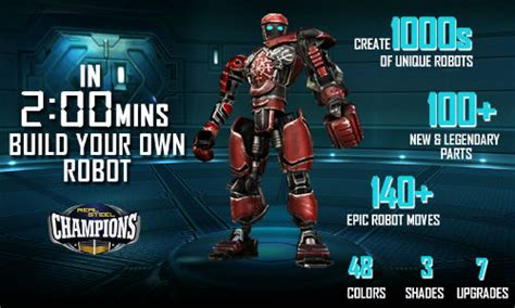 reliance games announces real steel champions coming