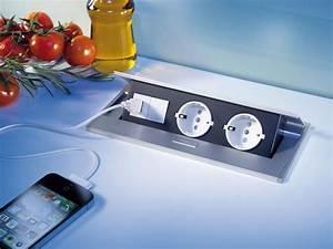 Versenkbare Steckdosen Küche. versenkbare steckdosen k che luxury ...