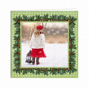 Christmas Card Template; Free Printable Photo Greeting ...
