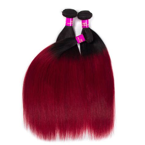 1b color peruvian ombre color hair 1b burgundy hair