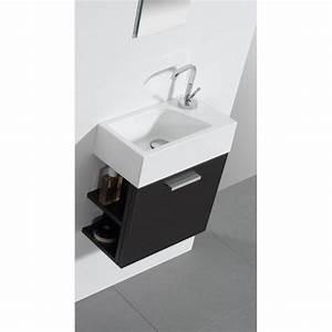 Kleines Waschbecken Mit Unterschrank : g ste wc badm bel waschbecken mit unterschrank und ablagef cher wunderbad g ste wc kleine ~ Watch28wear.com Haus und Dekorationen