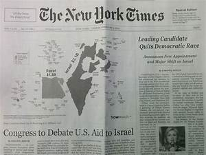 Israel Haters' Latest Nasty Trick: Fake NY Times (Updated ...