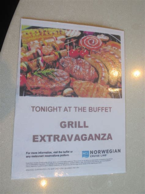 what to grill tonight grill extravaganza in the buffet tonight photo