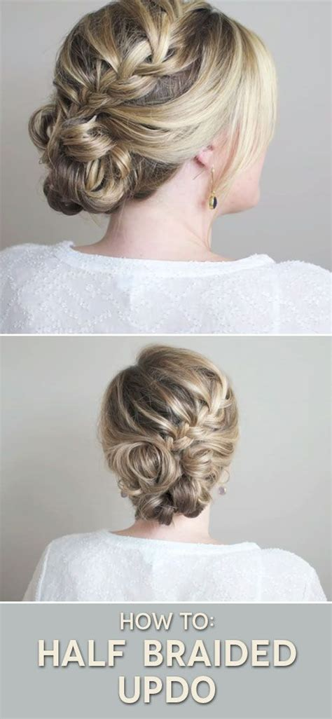 Half Updo Hairstyles Tutorial by Half Braided Updo Tutorial The Small Things
