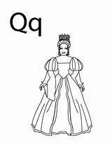 Coloring Pages Letter Queen Alphabet Tara Stay Quilt Princess Barbie Craft Toddler Lesson Crafts Colpages Folders Lego Friends Power sketch template