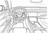 Audi Coloring A8 Pdf sketch template