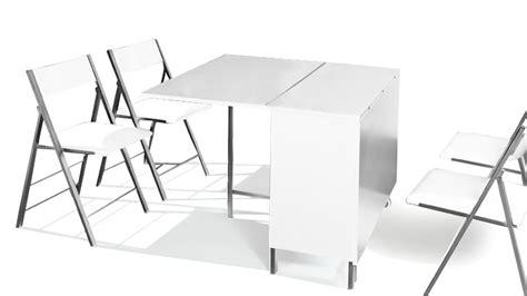 table de cuisine modulable table modulable et relevable avec chaises hub mobilier