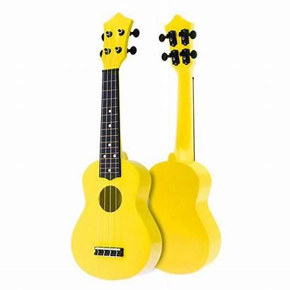 Guitar Acoustic Ukulele Inch Strings Uke Hawaii