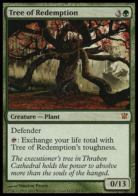 tree of redemption mtg card