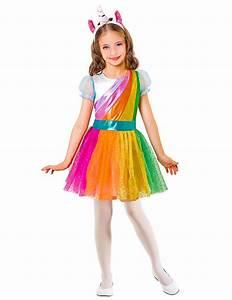 Einhorn Kostüm Mädchen : kost m regenbogen einhorn f r m dchen g nstige faschings kost me bei karneval megastore ~ Frokenaadalensverden.com Haus und Dekorationen