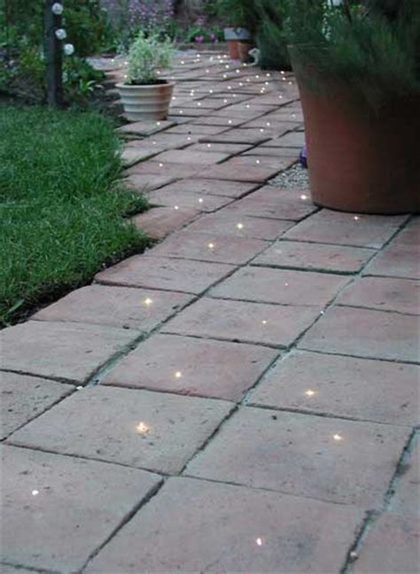 fibre optic deck and patio lighting