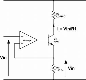 op amp current source achieving a defined settling With variable bidirectional current source