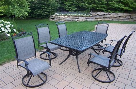 Home Design 6 Piece Patio Set : 20 Sturdy Sets Of Patio Furniture From Cast Aluminum