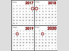 Si guardas un calendario de 1990, puedes reutilizarlo este