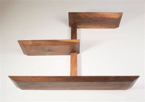 31787 made order furniture original elemen shelves ii american walnut handmade original