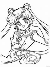 Anime Coloring Pages Print 5f67 Printable Sailormoon sketch template