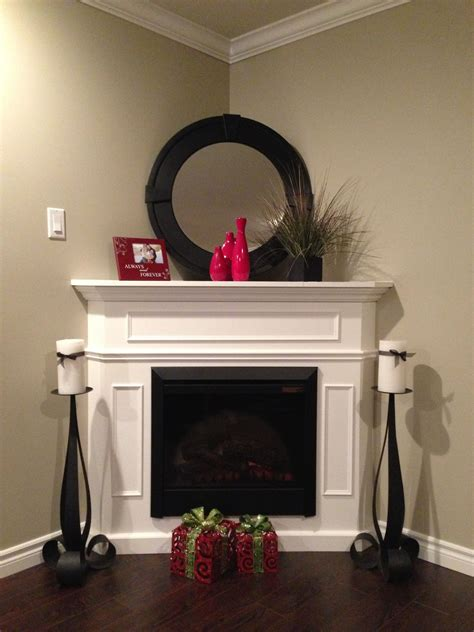 Corner Fireplace Mantels - fireplace decor for the home fireplace furniture