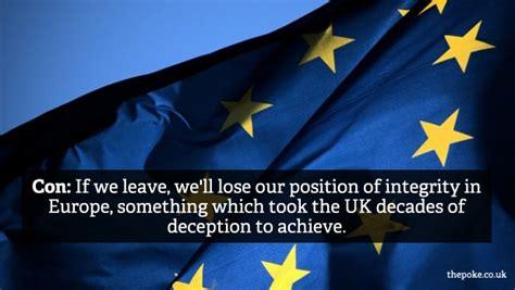undecided   eu referendum    pros