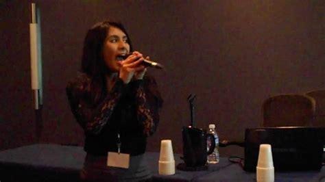 anime central 2011 cristina vee sings pokestars youtube