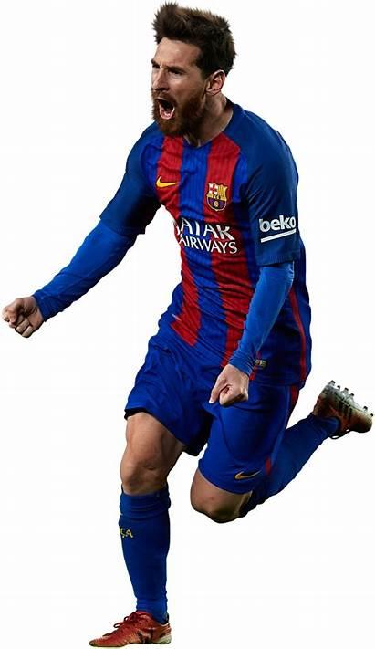 Messi Barcelona Lionel Fc Clipart Render Transparent