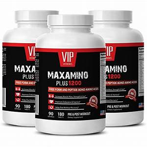 Post Workout Supplement For Men - Maxamino Plus 1200 - Muscle Growth Booster