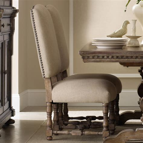 Upholstered Dining Chairs With Nailheads by Furniture Sorella Upholstered Side Chair Stoney
