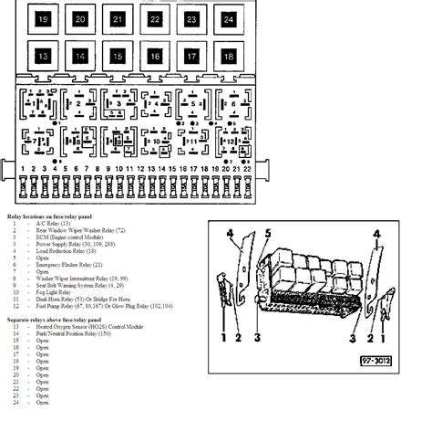 2000 Vw Cabrio Fuse Diagram 6 best images of vw beetle relay diagram vw beetle